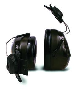 3M Peltor Optime 101 Cap-Mount Earmuffs, Hearing Conservatio