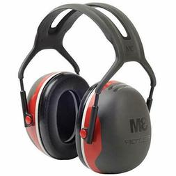 3M Peltor X-Series Over-the-Head Earmuffs, NRR 28 dB, One Si