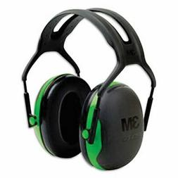 3M Peltor X-Series Over-the-Head Earmuffs, NRR 22 dB, One Si
