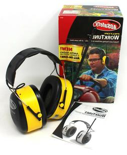 3M Peltor WorkTunes AM/FM Radio Headset with 22 dB Reduction