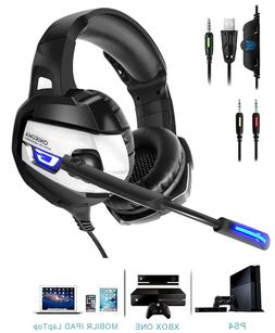 Pro Gaming Headset Wireless Headphones PS4 With Mic Earmuffs