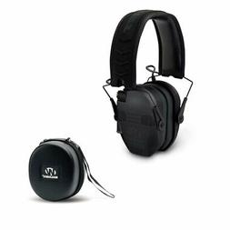 Walkers Razor Slim Electronic Bluetooth Quad Ear Muffs with