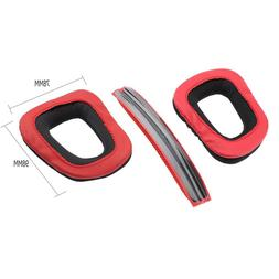 Replacement Ear Pads Earmuffs Headband Cushion for Logitech