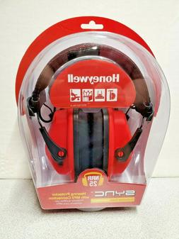 Honeywell RWS 53011 Sync Stereo Hearing Protector with Mp3 C