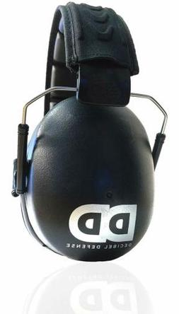 Professional Safety Ear Muffs by Decibel Defense - 37dB NRR