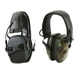 Safety Ear Muffs Ear Defenders for Shooting Adjustable Headb