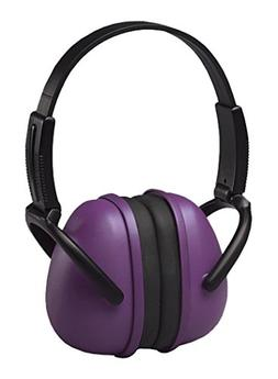 ERB Safety 14243 239 Foldable Ear Muff, One Size, Purple