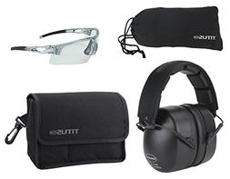 TITUS Safety Glasses and Earmuff Combos