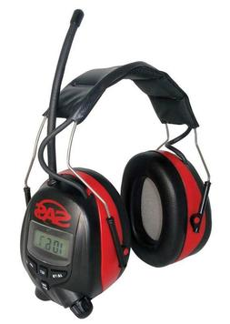 Sas Safety 6108 Digital Earmuff Hearing Protection With Am/F