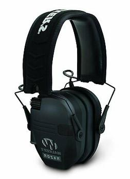 Shooting Earmuffs For Men, Black Slim Tactical Youth Electro