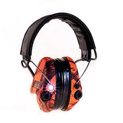 MSA Sordin Supreme Pro X with LED Light - Electronic EarMuff