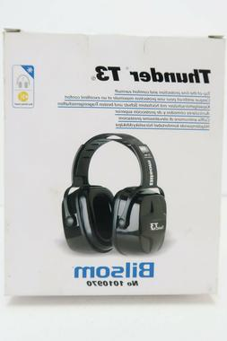 Thunder T3 Dielectric Earmuffs, 30NRR, Black