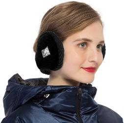 Surblue Unisex Warm Knit Earmuffs Ladies Outdoor Cashmere Wi