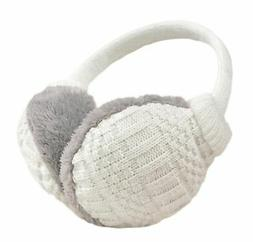 Knolee Unisex Knit EarMuffs Faux Furry Earwarmer Winter Outd