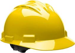 Bullard Standard Vented Low Profile Slotted Hard Hat with 4