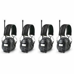 Walkers Hearing Protection Over Ear AM/FM Radio Earmuffs, 4