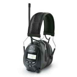 Walkers Hearing Protection Over Ear AM/FM Radio Earmuffs wit