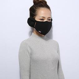 Aodewe Unisex Windproof Half Face Mask Soft Cotton Anti Dust