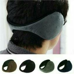Winter Fit Behind the Head Ear Warmers Muffs Women Men Unise