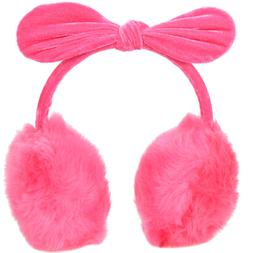 Winter Warm Women Girls Faux Fur Plush Ear Warmers Earmuffs