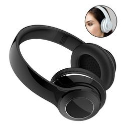 Wireless Bluetooth Headphones Stereo Earphone Over Ear Soft