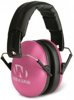 Ear Muffs For Women And Youth Pink Folding Hearing Protector