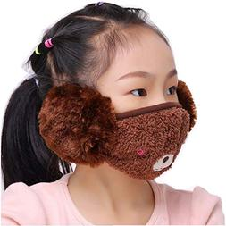 women girls winter warm cloth face mouth