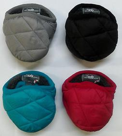 180s Women's Adjustable Ear Warmers Down Puffy Quilt EarMuff