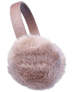 Women's Foldable Fur Ear Plush Winter Warm Earmuffs Ear Warm