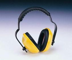 Zen-Tek EM106 Adjustable Headband Ear Muffs Yellow/Black